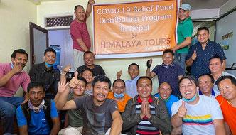 Corona-Hilfe angekommen in Nepal, Bhutan, Tibet, Sikkim und Ladakh