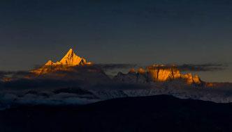 Nepal, Reise, Kathmandu, Pokhara, Annapurna, Fishtail, Machhapuchhre