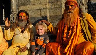 Himalaya Tours, Nepal, Sadhu, Kathmandu, Reisen