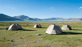Ausrüstung für eine Trekking oder Wander-Reise im Himalaya
