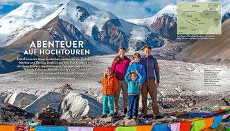 Thomas Zwahlen, Himalaya Tours, Reportage, Globetrotter Magazin, Schweiz Familie, Die Alpen, 4-Seasons, Fotospiegel