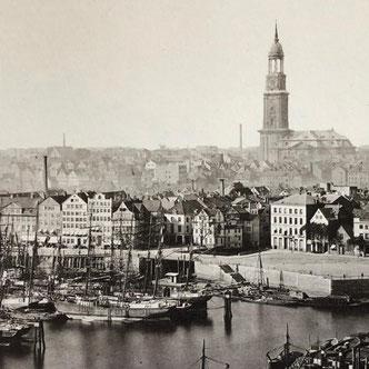Alt-Hamburg mit Michel