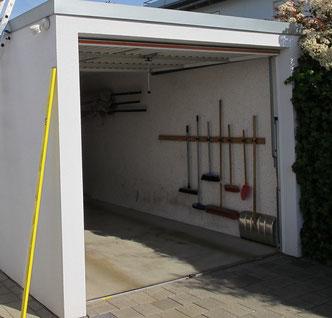 Auch Garagen müssen gegen Feuchte gechützt werden.