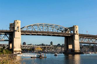 Brücke in Vancouver City