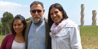 Reunión con el Dr. Martí Boada, Premio Global 500 de Naciones Unidas