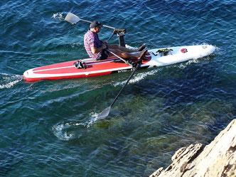 Alternativ Coastal Rowing in Blickrichtung vorwärts - die Welle ansteuerns mit RowVista