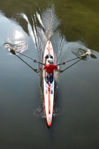 ROWonAIR Aufblasbares AIRSKIFF flexibel zum Rudern mitnehmen