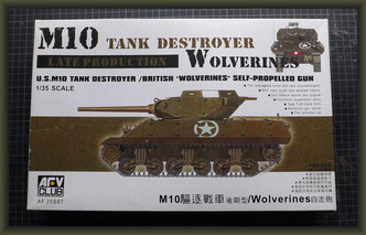 1/35 M10 A1 Tank Destroyer, AFV Club, 35S07