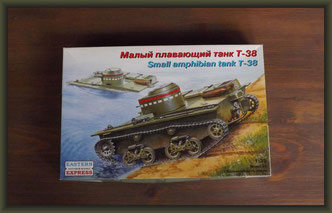 Eastern Express 35002 Small amphibian tank T-38
