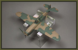 P-40E Kittyhawk / 1:48 Building Report