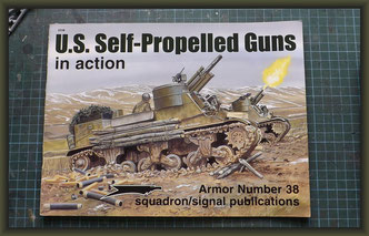 Armor No. 38 US Self-Propelled Guns in action by Jim Mesko
