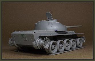T-54-3 Tank, Building Report