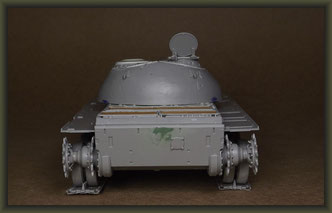 T-54-3 Tank, Building Report