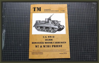 Tankograd 6007: US WWII 105mm Howitzer Motor Carriages M7, M7B1 Priest