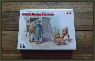 ICM - Nr. 35694  WWI U.S. Medical Personnel