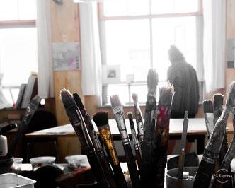 Das Atelier ist ein kreativer Work Place