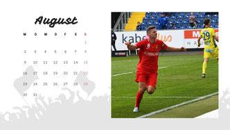 Vorschau Kalenderblatt August