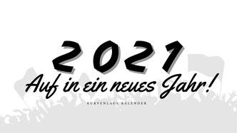 Vorschau Kalender 2021 Deckblatt
