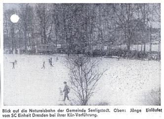 Bild: Teichler Seeligstadt Chronik 1982