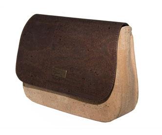 Handtasche Kork - Leder