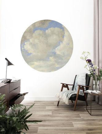 Wolken-Tapetenkreis von KEK Amsterdam