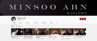 YouTube Channel Minsoo Ahn