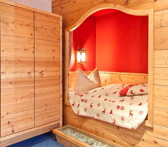 Gästezimmer für Übernachtungen im Gasthof Falkenstein in Flintsbach