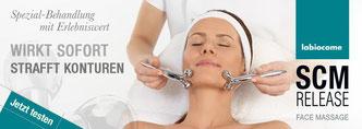 SCM Release Face Massage von La Biocome bei Cosmetic Heidi Schwaiger in Salzburg