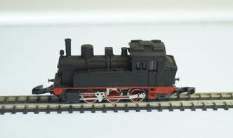 Spur Z BR 89 sächs VT