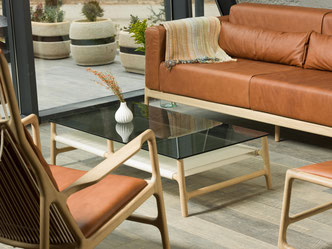 Das-Sofa-Fawn-und-der-Sessel-Dedo-passen-in-das-Wohnzimmer