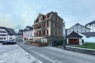 Starkl Vieli Architekten Umbau Restaurant Adler Gersau