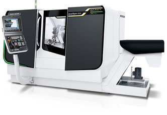 Eine CNC-Universal-Drehmaschine EcoTurn 450 von DMG MORI