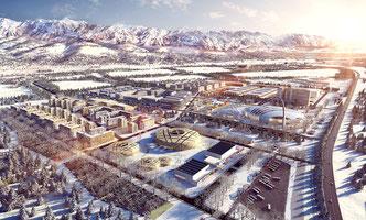 Almaty 2022, Olympic City, Olympic bid, sports bidding, bid book, abold