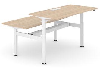 Schreibtisch Mehrplatzlösung höhenverstellbar