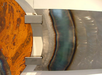 Kunstobjekte aus Stahl: Inspiration Detail 4