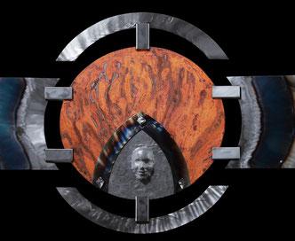 Kunstobjekte aus Stahl: Detail Inspiration 2