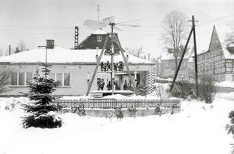 Bild: Weihnachtspyramide Wünschendorf Erzgebirge