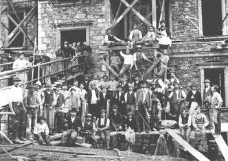 Bild: Wünschendorf Floßmühle Schönherr 1897