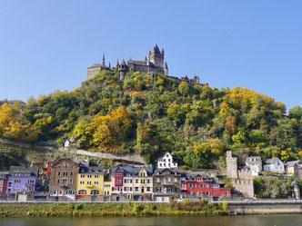 Burg Cochem Mosel Deutschland miss elliesgartenreisen
