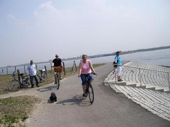 Ferienhaus Zeeland - Radweg von Bruinisse nach Zierikzee, immer am Wasser entlang
