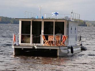 finnland hausboot mieten und kaufen. Black Bedroom Furniture Sets. Home Design Ideas