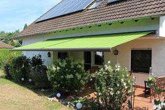 markilux 5010 in Babenhausen als Koppelanlage mit Schlitzrollo FINK Markisen Sonnenschutz Großostheim Seligenstadt
