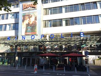 may Sonnenschirme Schattello Aschaffenburg Kino Kinopolis Fink Markisen Sonnenschutz