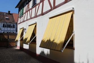 markilux Fallarmmarkise 730 830 Fenstermarkisen bei Fink markisen Sonnenschutz in Babenhausen