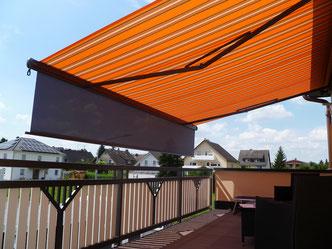 markilux Gelenkarmmarkise 1500 mit SchattenPLUS Fink Markisen Sonnenschutz Seligenstadt