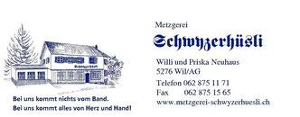 Metzgerei Willy Neuhaus