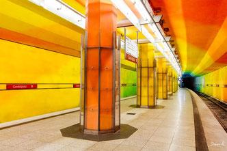U-Bahnhof Candidplatz München HDR