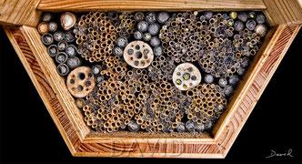 Insektennisthilfe Insektenhotel Nisthilfe Strohhalme Pappröhrchen Wildbienenschreinber insect nesting aid insect hotel mason bee