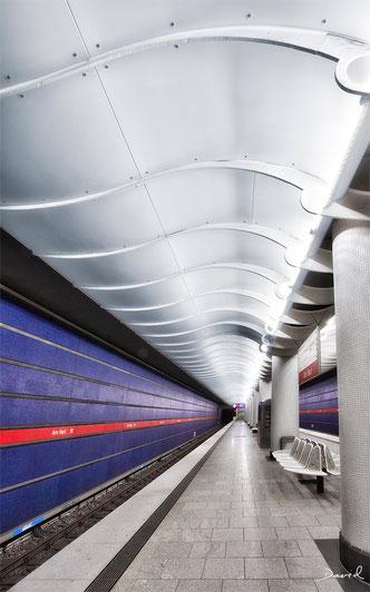 U-Bahnhof Am Hart München HDR