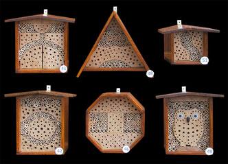 Insektennisthilfe Wildbienennisthilfe Insektenhotel